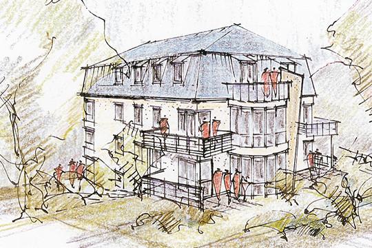 Zeichnungen Max-Höra-Straße