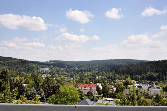 Ausblick 1 Zimmer Appartement Kuhberg 62