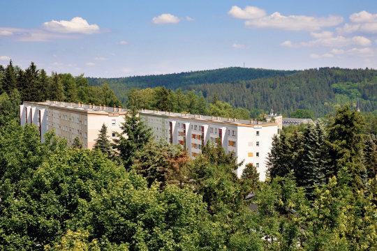 Der schönste Ausblick über Bad Elster