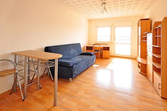 Kurzfristige Vermietung in möblierten Wohnungen